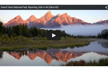 Grand Teton National Park in 4K Ultra HD