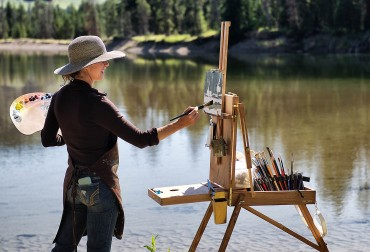 Plein Air in the Parks - Grand Teton National Park with Kathryn Mapes Turner