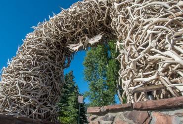Jackson Hole Antler Arches