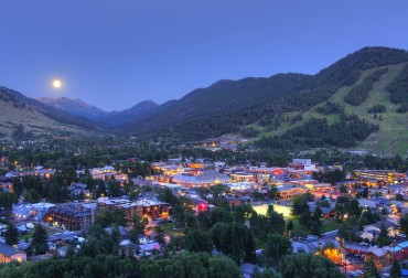 First named in 1894, the Town of Jackson is the commercial center of Jackson Hole.