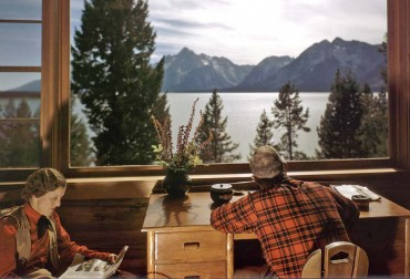 Jackson Hole in it's glory days of Dude Ranching