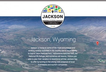 Jackson, Wyoming is Google's 2015 eCity in Wyoming