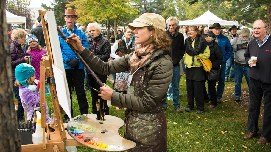 Quick Draw Event - Jackson Hole Fall Arts Festival