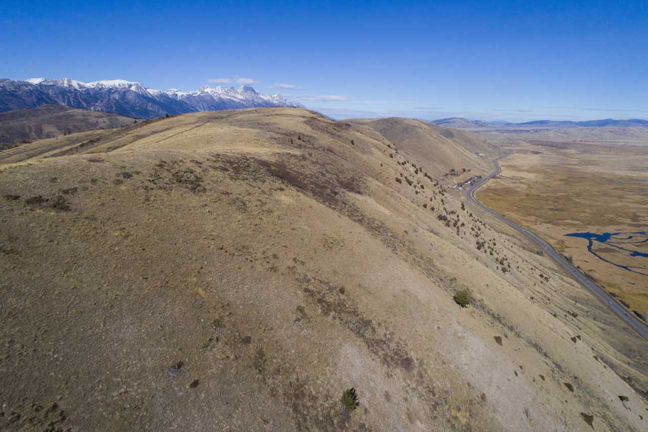 Lookout on East Gros Ventre Butte - Jackson Hole