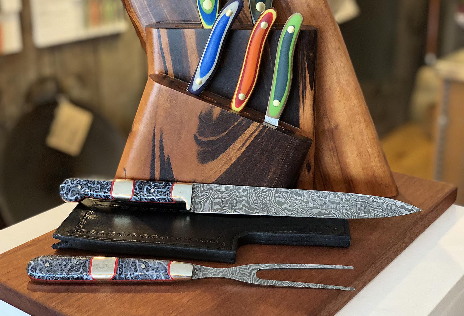 Brian Coral - New West Knifeworks - Jackson Hole