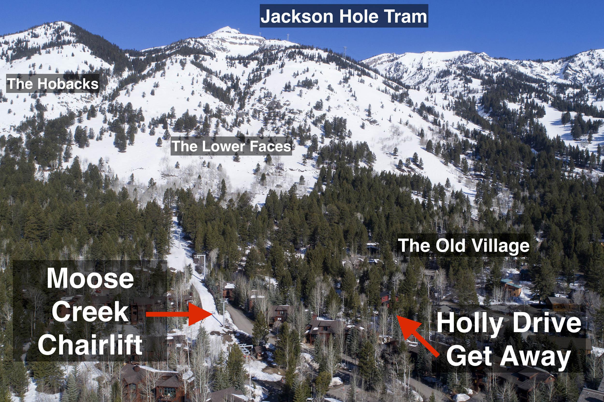 Teton Village Ski Real Estate - Holly Drive GetAway