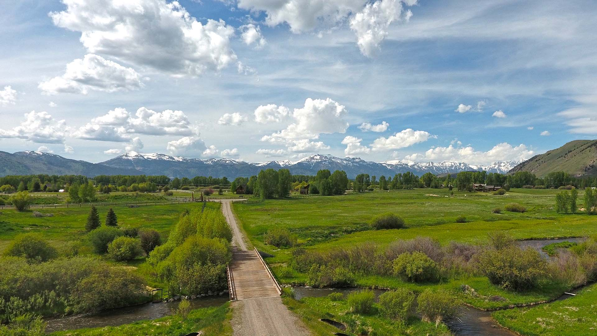 Flat Creek Fishing Estate - Jackson Hole