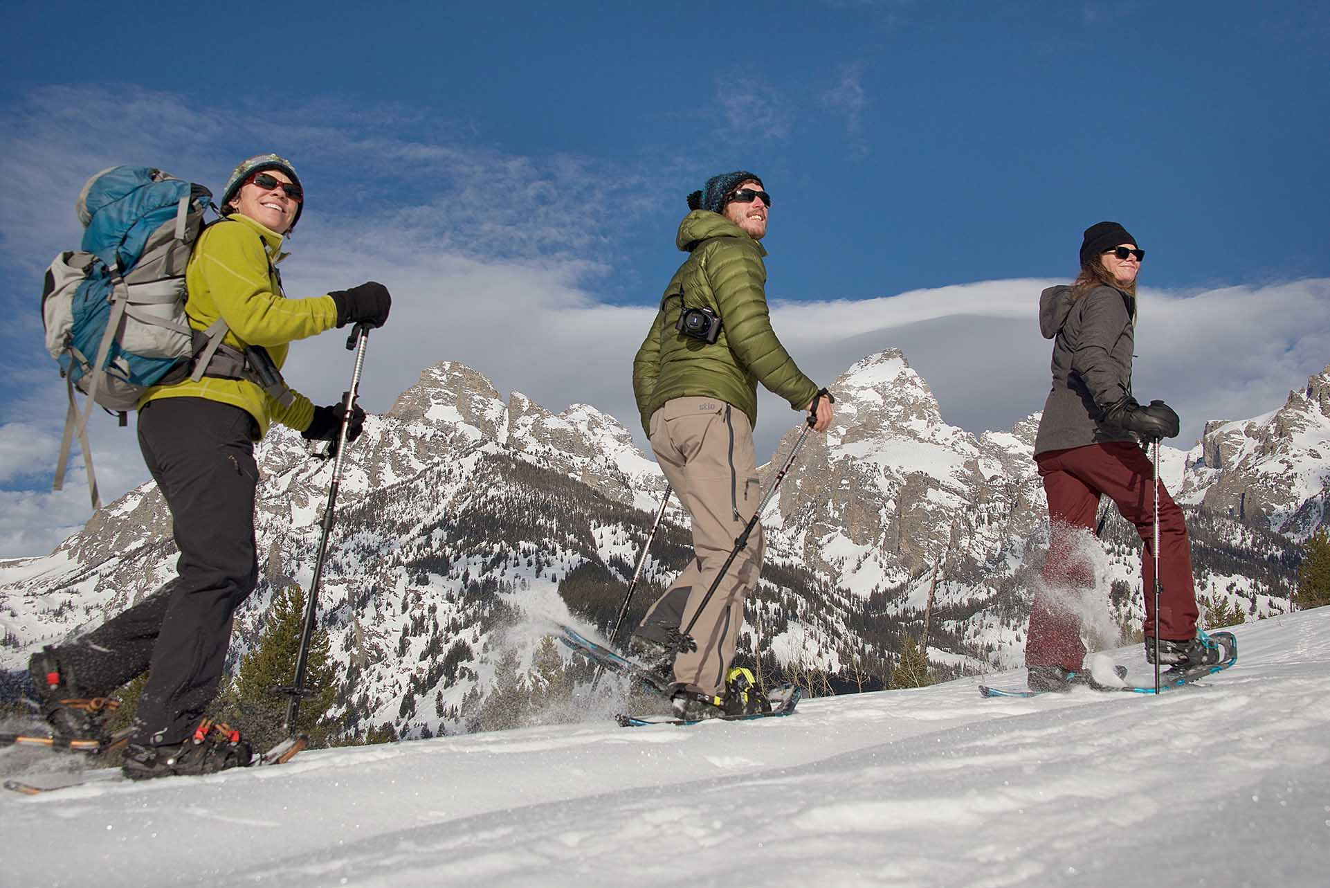 Snowshoeing in Grand Teton National Park