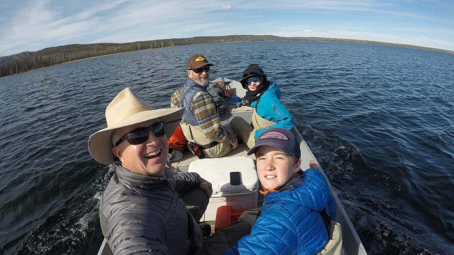 Lewis Lake - Yellowstone National Park