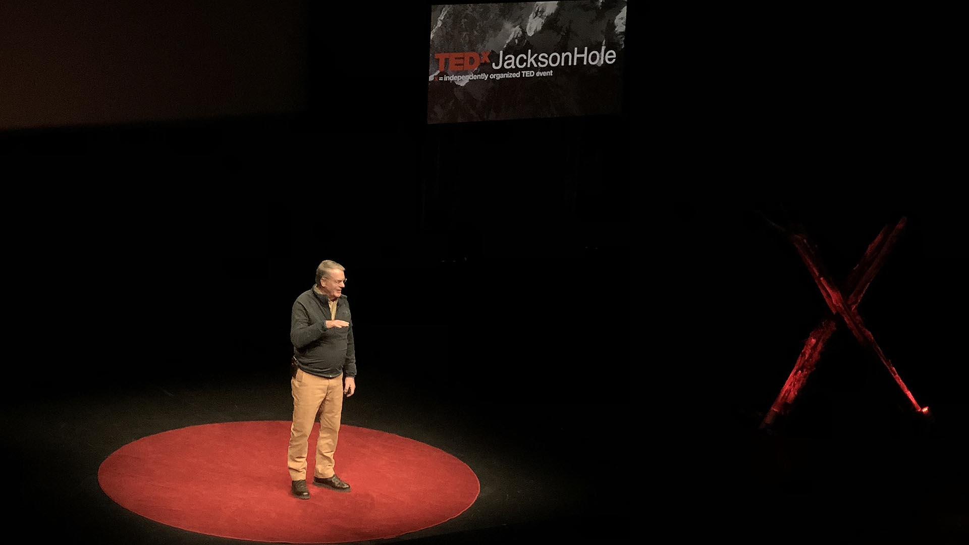 TEDxJacksonHole-2018 Ranger John Kerr, Jackson Hole, Wyoming