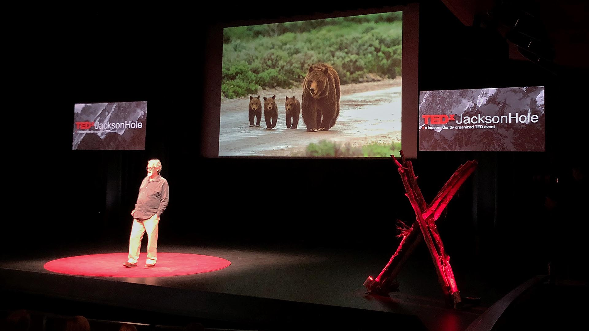 TEDxJacksonHole-2018 Photographer Tom Mangelsen, Jackson Hole, Wyoming
