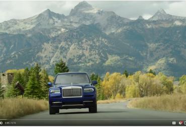 Rolls Royce Cullinan SUV Jackson Hole
