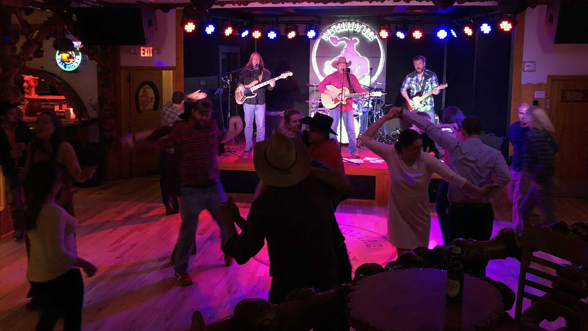 Million Dollar Cowboy Bar - Jackson Hole, Wyoming