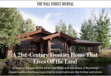 Wall Street Journal - Jackson Hole Real Estate