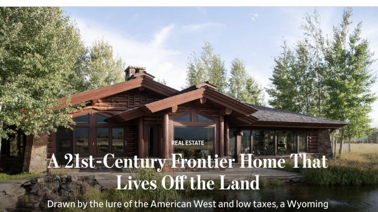 Wall Street Journal - Jackson Hole Real Estate