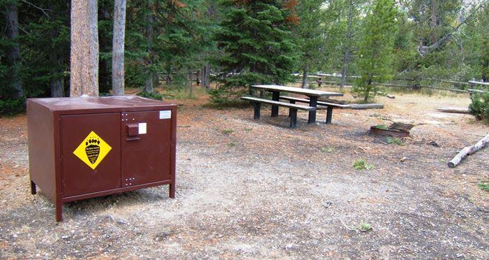 Grand Teton National Park Bear Box