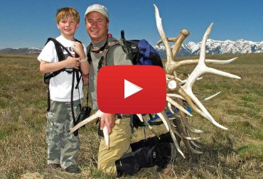 Watch the Boy Scouts collect antlers on the National Elk Refuge.