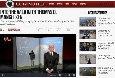 60-Minutes-Thomas-Mangelsen- Jackson Hole Photographer