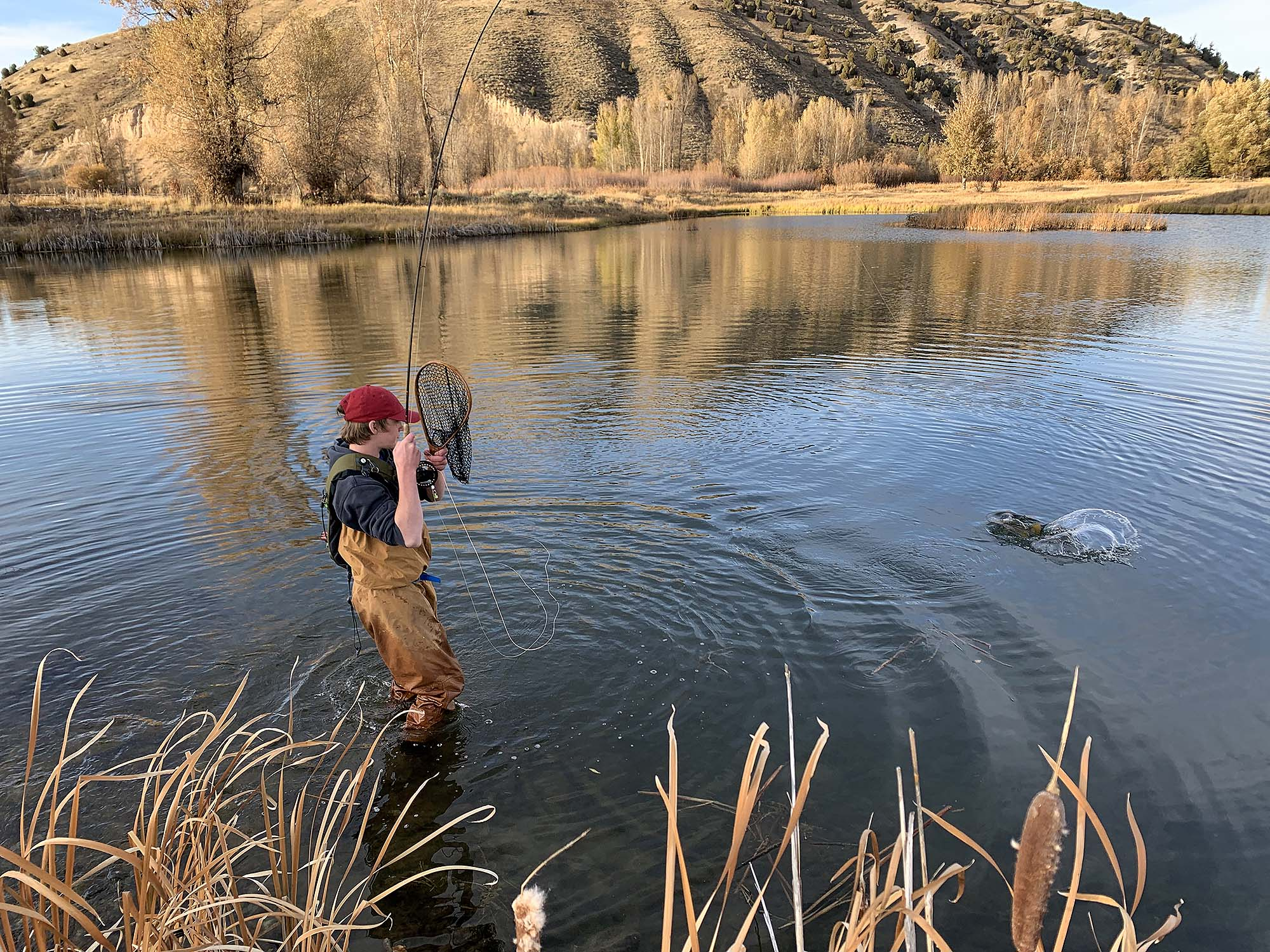 Fly Fishing at the Cody Creek Ranch - Jackson Hole Real Estate
