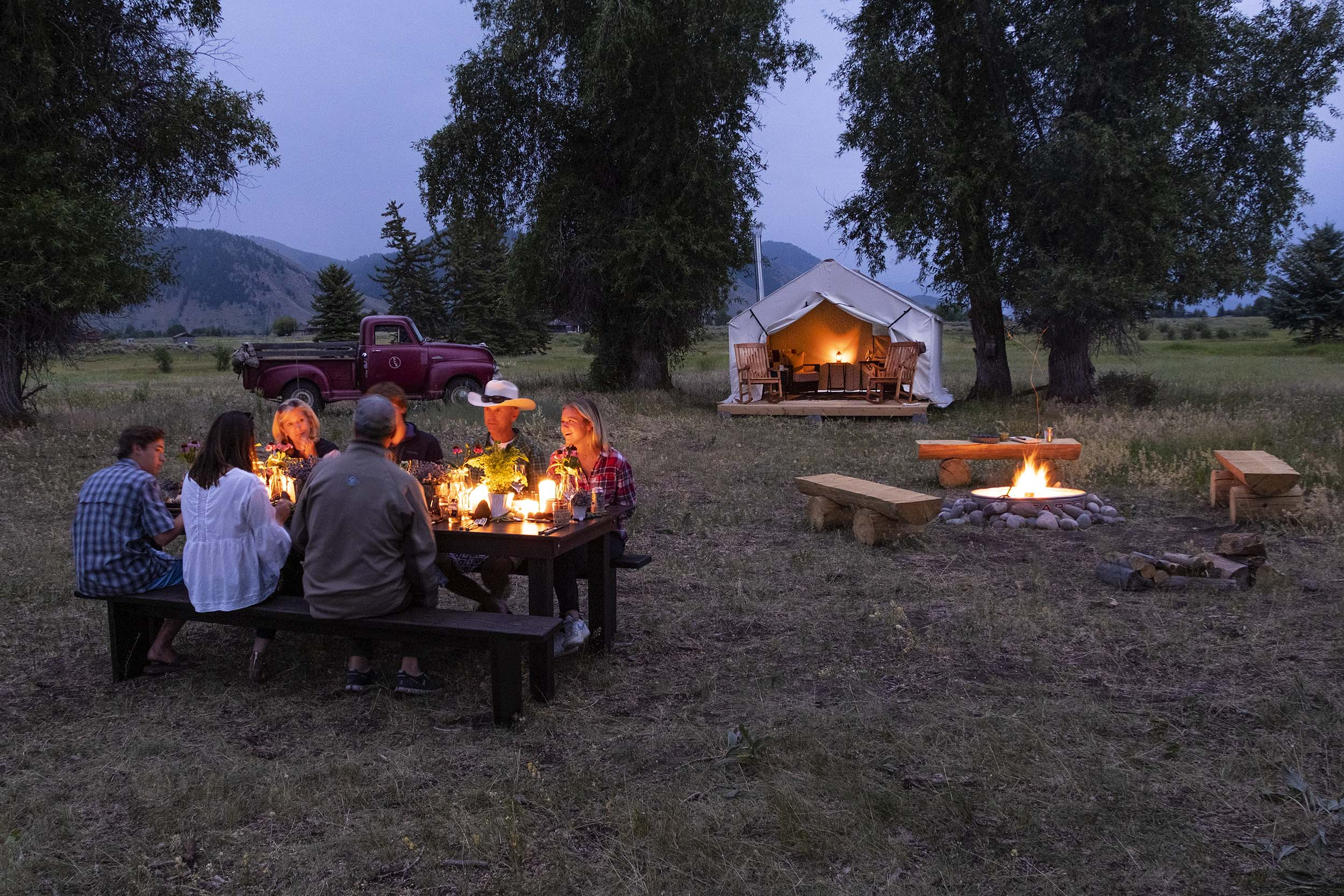 Cody Creek Ranch Jackson Hole Cookout