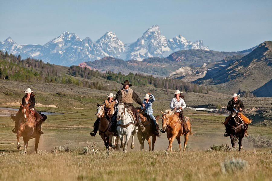 Goosewing Ranch, Jackson Hole, Wyoming