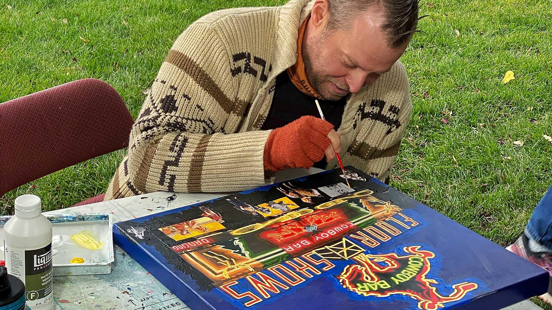 Borbay, Quick Draw, Jackson Hole Fall Arts Festival