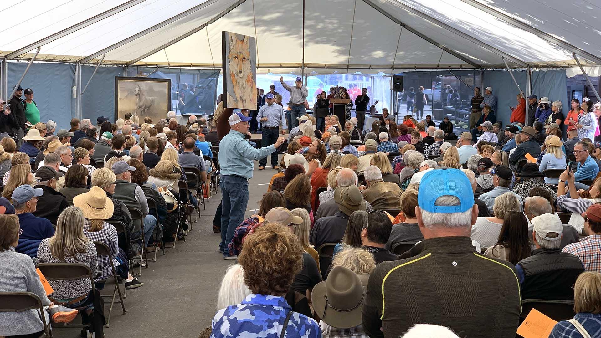 Quick Draw Live Auction - Jackson Hole Fall Arts Festival
